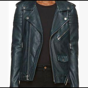 BLK DNM women's leather jacket, large